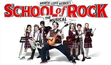 School of Rock Princess Theatre Torquay