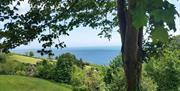 Sea views from Bowden House, Torquay, Devon