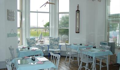 Breakfast Room, Sealawn Guest House, Paignton, Devon