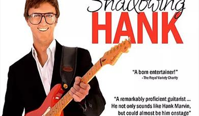 Shadowing Hank - tribute to Hank Marvin and the Shadows, Brixham Theatre, Brixham, Devon
