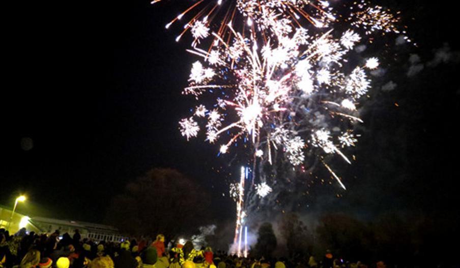 Sherwell Valley Primary School Annual Bonfire Night, Torquay, Devon