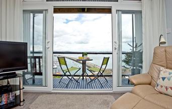 View from Shipshape, 11 Heath Court, Brixham, Devon