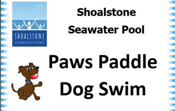 Paws Paddle Dog Swim - Shoalstone Pool, Brixham, Devon