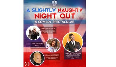 A Slightly Naughty Night Out, Babbacombe Theatre, Torquay, Devon