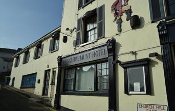 Smugglers Haunt Front of building, Brixham, Devon
