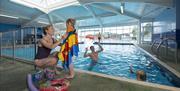 Lets go for a swim at South Bay Holiday Park, Brixham, Devon