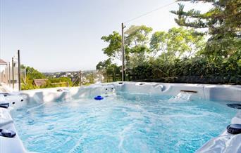 Hot tub, Springfield, Torquay, Devon