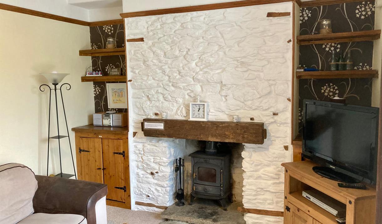 Lounge, Stones Throws Cottage, 33 Ranscombe Road, Brixham, Devon