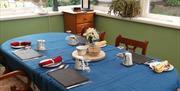 Breakfast area, Sunnybrook Guest House, New Road, Brixham, Devon