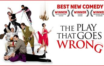 The Play That Goes Wrong, Princess Theatre, Torquay, Devon