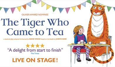 The Tiger Who Came To Tea, Princess Theatre, Torquay, Devon