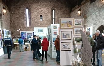 Torbay Guild of Artists -  Torre Abbey, Torquay, Devon