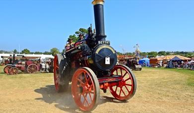 Torbay Steam Fair, Churston, Near Brixham, Devon