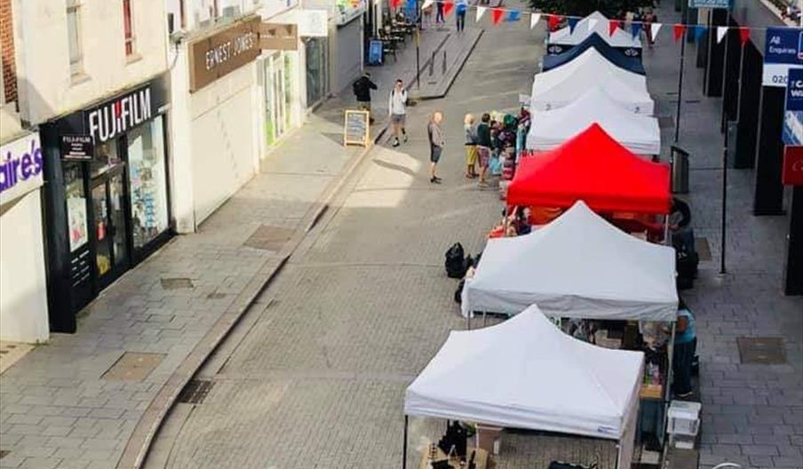 Street and Craft Market, Torquay, Devon