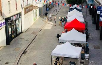 Street and Craft Market, Torquay, Devon