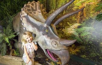Torquay's Dinosaur World, Torquay, Devon