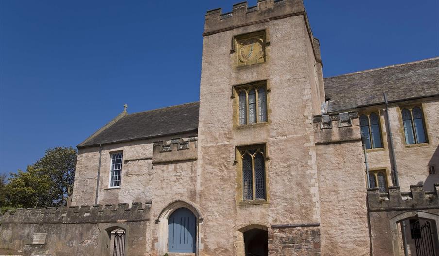 Outside, Torre Abbey, Torquay, Devon