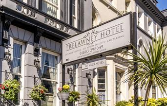 Outside - The Trelawney. Torquay, Devon