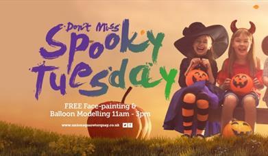 Spooky Tuesday, Union Square Shopping Centre, Torquay, Devon