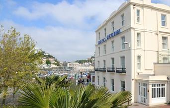 Exterior, Hotel Regina, Torquay, Devon