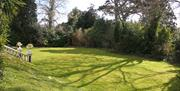 Garden, Villa Garda Holiday Apartments, Torquay, Devon