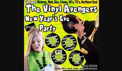 The Vinyl Avengers New Year's Eve Party, Palace Theatre, Paignton, Devon