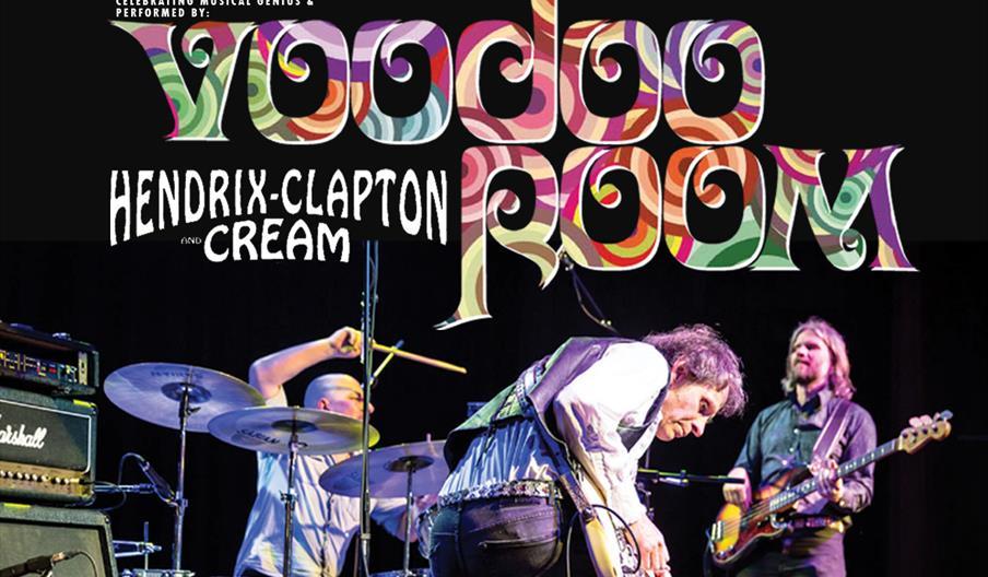 Voodoo Room - A Tribute to Hendrix, Clapton and Cream, Palace Theatre, Paignton, Devon