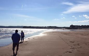 Channel View Boutique Hotel, Relaxing Holiday, Walking on Preston Beach,  Paignton, South Devon, English Riviera