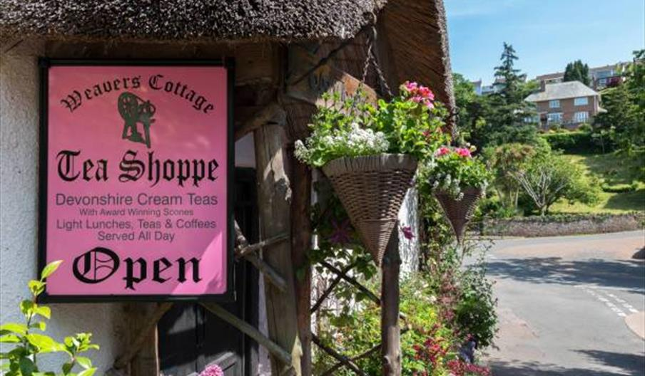 Weavers' Cottage Tea Shoppe Torquay, Cockington, Devon