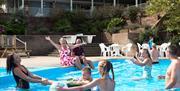 Outdoor pool, Hoburne Devon Bay, Paignton, Devon