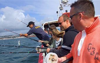 Ashleys Fishing Trips, Paignton, Devon