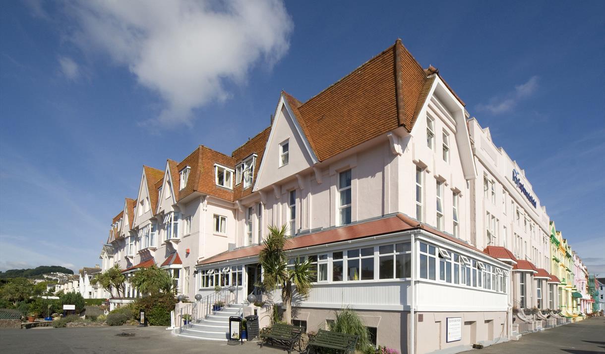 Exterior, The Esplanade Hotel, Paignton, Devon