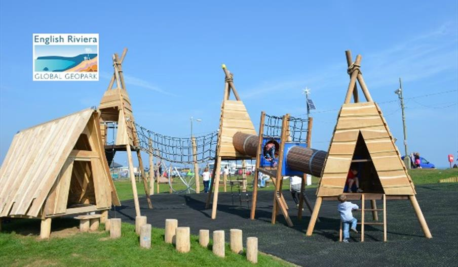 Geoplay Park, Paignton in the summer