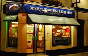 Hanbury's Fish Restaurant Torquay, Devon