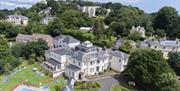 Ariel view of Lincombe Hall Hotel & Spa, Torquay, Devon
