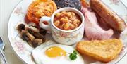 Breakfast at The Robin Hill Hotel, Torquay, Devon
