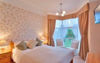 Bedroom at Avron House, Torquay, Devon