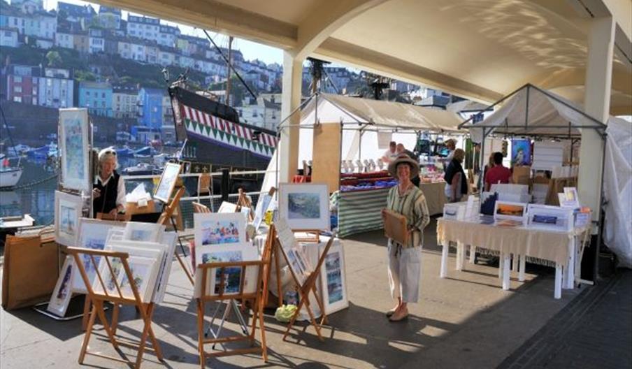 Brixham Art and Craft Market