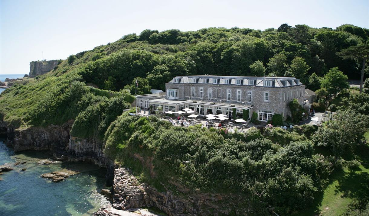 Berry Head Hotel, Brixham, Devon - at the waters edge.