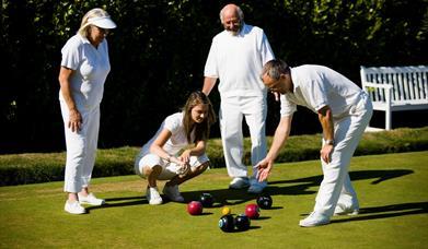 English Riviera Open Bowls Tournament, Torquay, Devon
