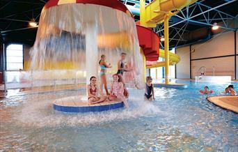 Indoor heated pool, Hoburne Devon Bay, Paignton, Devon