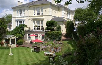 Linden House Garden in Torquay, Devon