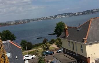 Views across the Bay from Stanley House, Paignton, Devon