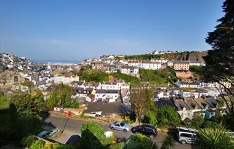 View from Woodlands, Brixham, Devon