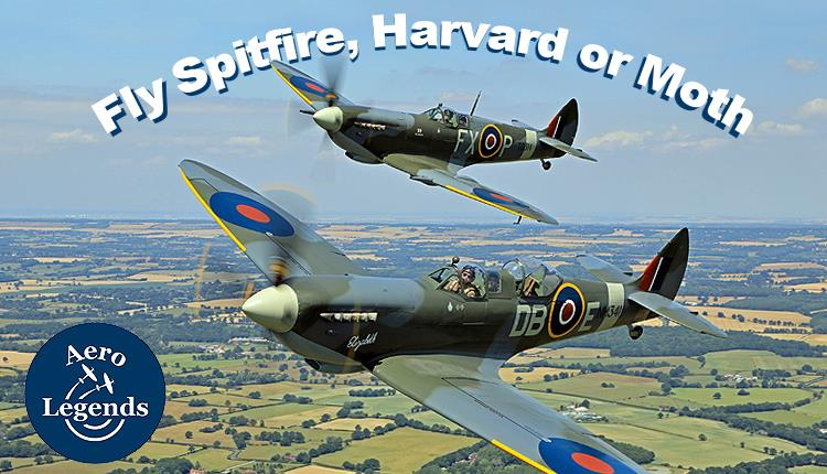 Aero Legends now booking flying experiences operating from historic North Weald Airfield.