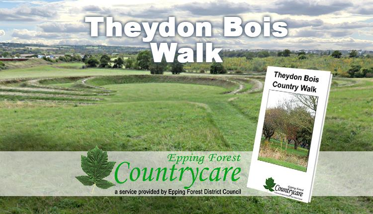 Theydon Bois walk passes the sculpture beside the M11