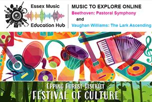 Essex Music Education Hub, Music to explore online