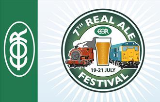 7th Epping Ongar Railway Real Ale Festival 19-21 July 2019.