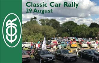 Epping Ongar Railway Classic Car Rally at North Weald Station