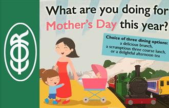Mother's Day Dining Trains